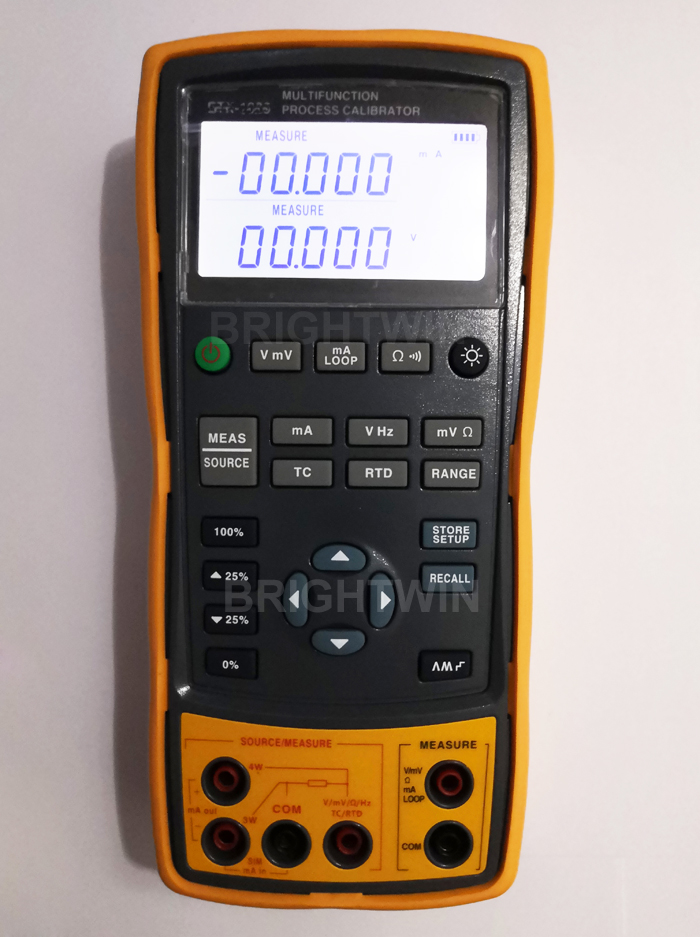 Multifunction Process Calibrator East Tester High Accuracy Handheld Process Calibrator Digital Multimeter Two in One