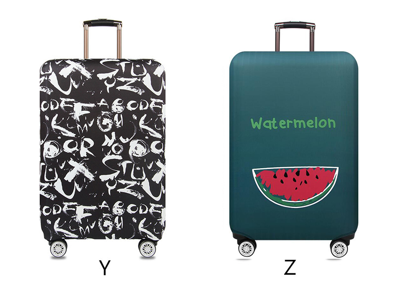 Thicker Travel Luggage Protective Cover Suitcase Case Travel Accessories Elastic Luggage Dust Cover Apply to 18''-32'' Suitcase 18