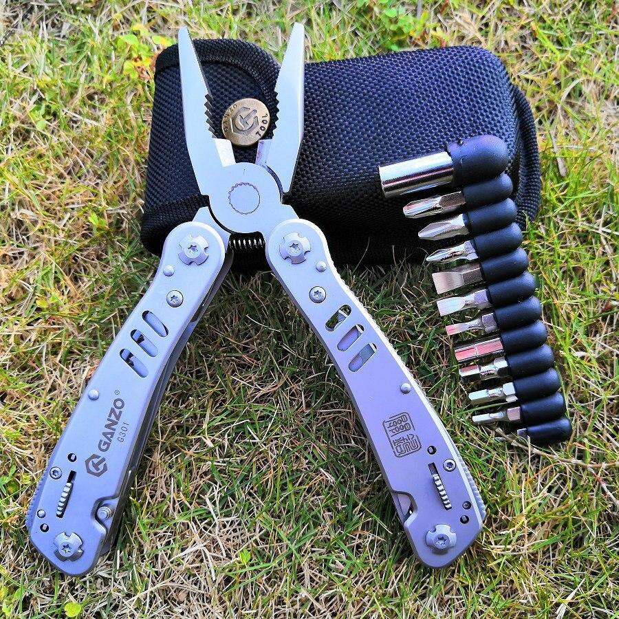 Werkzeuge Zangen Esplb 12-in-1 Multitool Zange Multi Zweck Klapp Tasche Zange Werkzeug Gehärtet 420 Edelstahl Für Überleben Camping Angeln