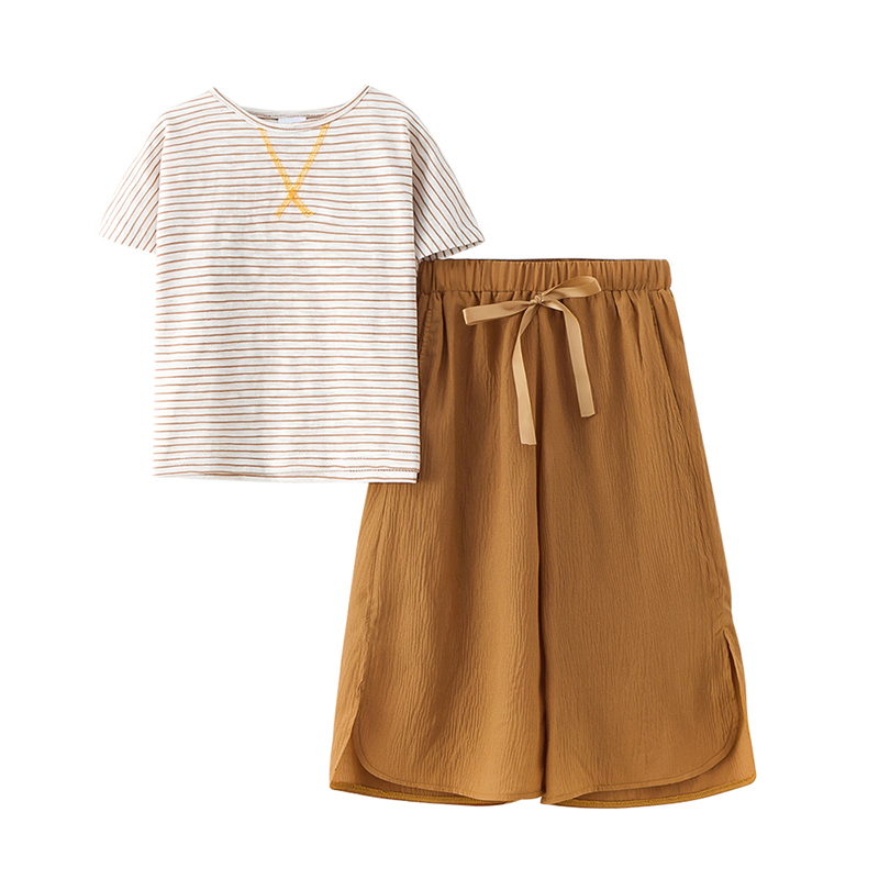 women clothes set 2019 summer time 2 pcs t shirt + child lady gown gown unfastened trend child lady garments kids clothes stunning women clothes units, clothes units, trend...