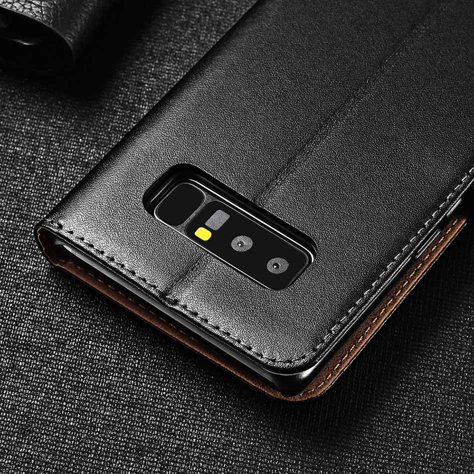 TOMKAS Vintage Wallet Case for Samsung Note 8 Luxury PU Leather Flip Style With Stand Phone Cover Case for Samsung Galaxy Note 8 (11)