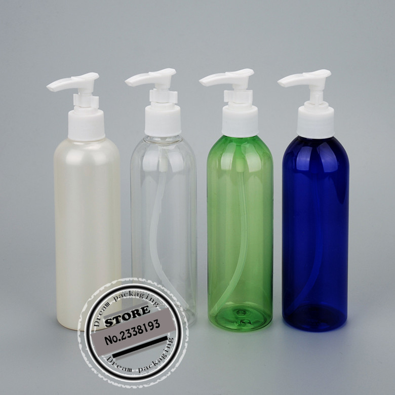 200ml X 30 round beautiful bayonet lotion pump container, shower gel shampoo liquid soap dispenser bottle wholesale-in Refillable Bottles from Beauty & Health    1