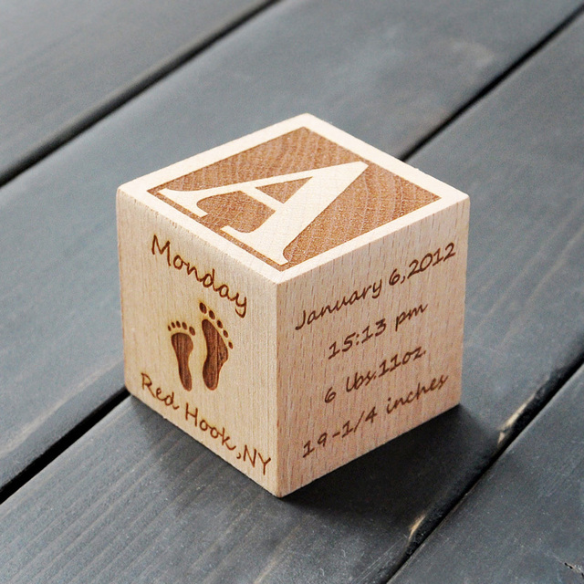 Personalized baby block newborn birthday baptism gift engraved wooden block new baby gifts baby gift baby toys blocks in blocks from toys personalized baby block newborn birthday baptism gift engraved wooden block new baby gifts negle Choice Image