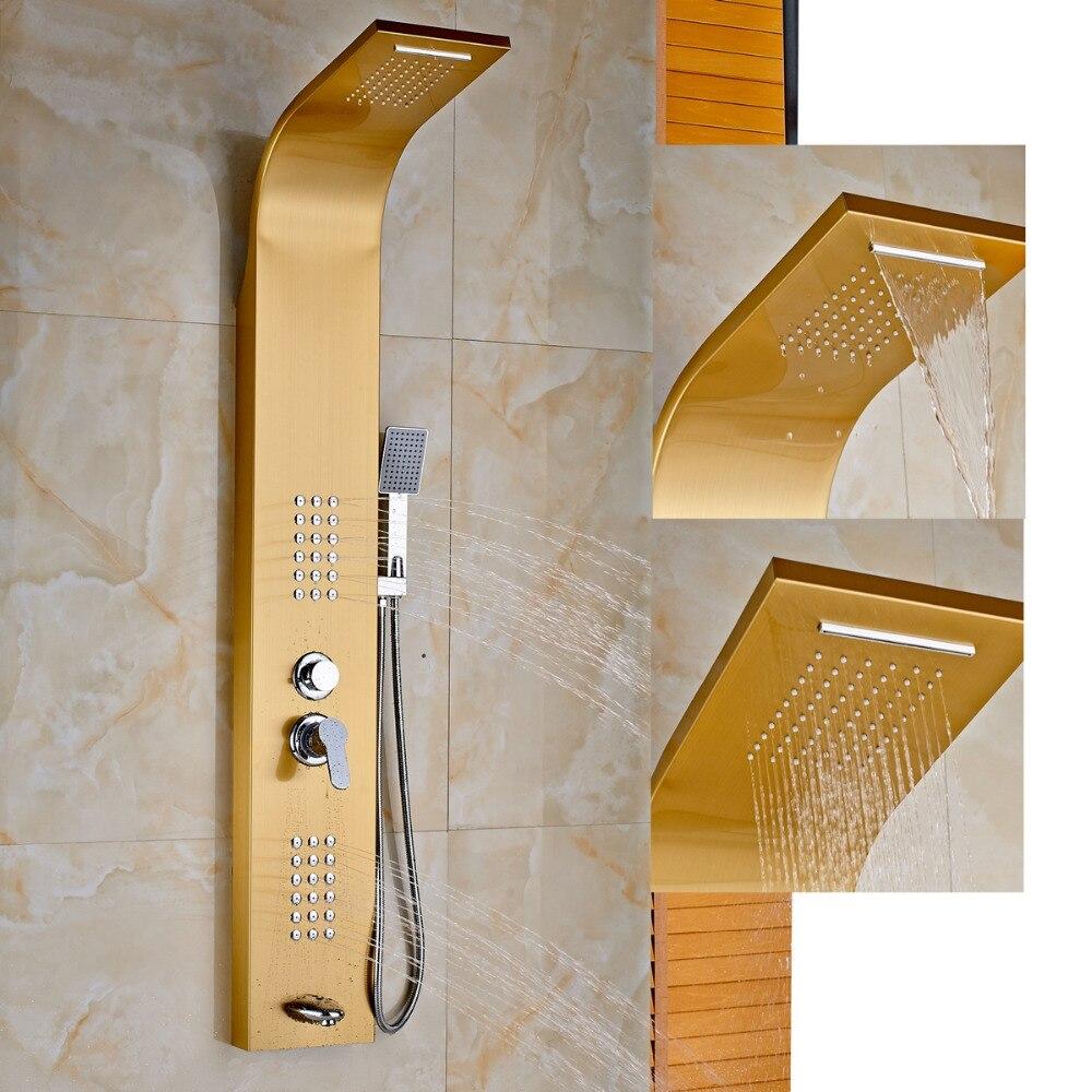 Golden Font B Shower B