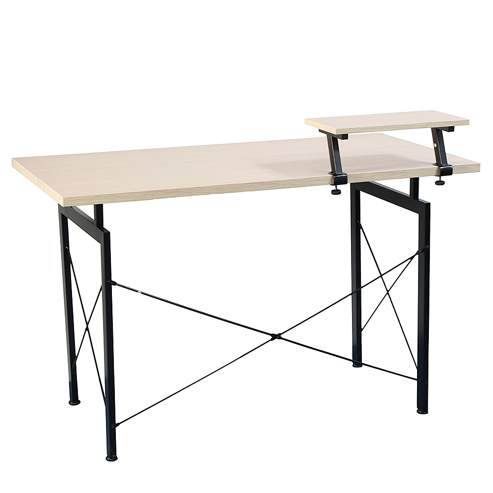 Concise Wooden Computer Desk With Top Shelf Pc Table Home Office Furniture Dropshipping Image