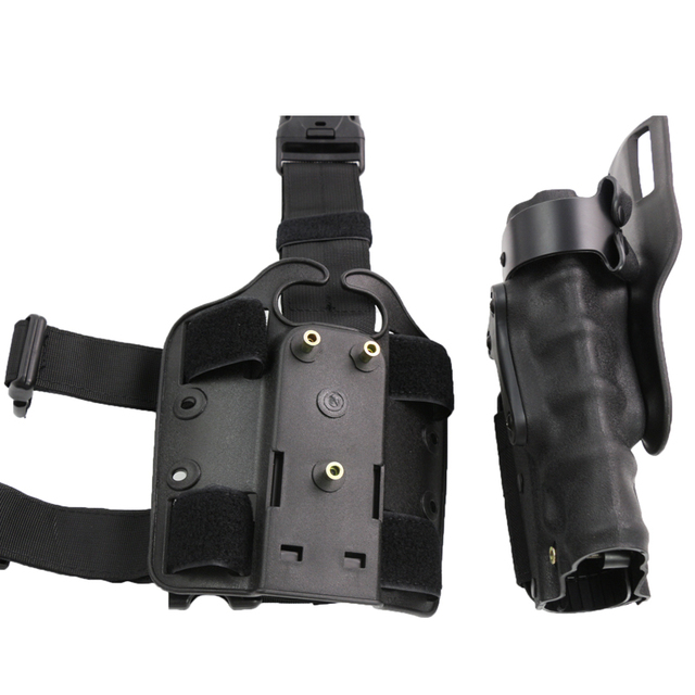 Hunting Army Airsoft Tactical Holster Right & Left-Handed Thigh Leg Combat Gun Holster Fit For GL 17 M92 M96 USP P226 1