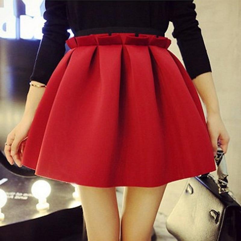 Spring Summer Women Skirt Space Cotton Black Sexy Mini -3097