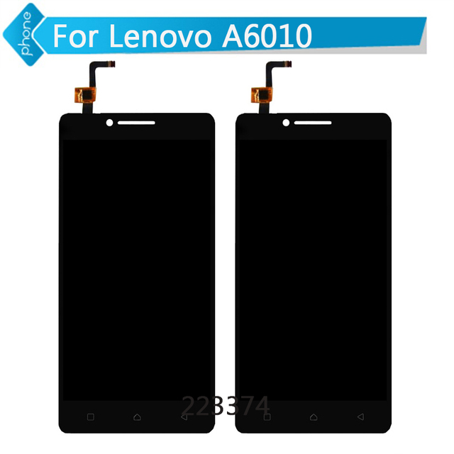 For Lenovo A6010 LCD Display Digitizer touch Screen Assembly Free Shipping