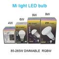WIFI dimmable 2.4G led spot lamp 85-265V  Mi Light Dimmable 110V 220V CW/WW RGBW RGBWW E27 GU10 4W 5W 6W 8W 9W Smart LED Bulb