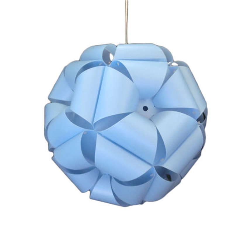 35cm Diy Flower Ball Modern Lampshade Circular Craft Lamp