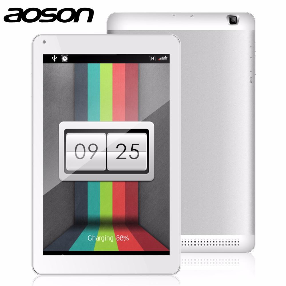 Prix pour Haute résolution 10.1 pouce Quad Core Tablet PC AOSON M106NB Android 4.4 1 GB RAM 8 GB ROM Bluetooth IPS Wifi Comprimés double caméras