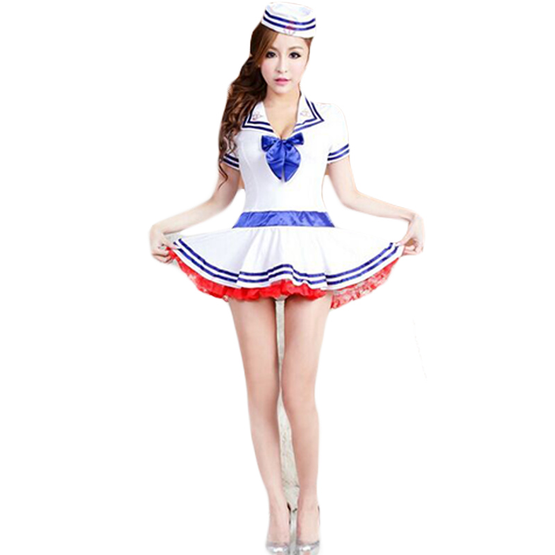 Sexy Lingerie Nurse Ball Gown Dress Role Play Costume for Girl Cute Nurse Clothing Cosplay for Female Erotic GownWoman CA260