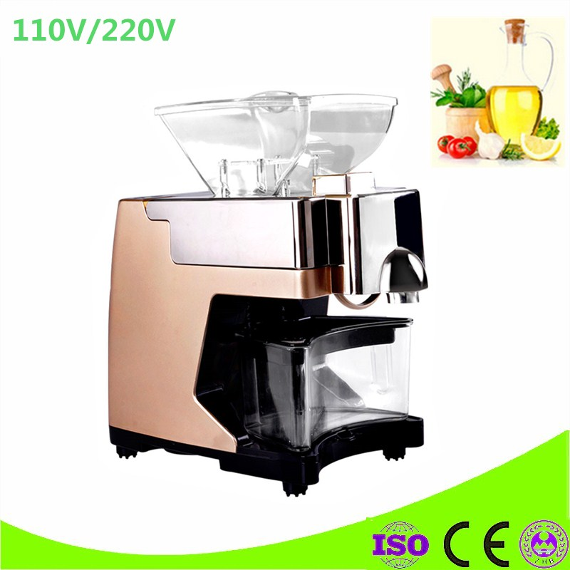 Hot And Cold Mini Oil Press Machine For Black Seed, Cocoa butter, Sesame, Flaxseed, Sunflower Seed, Camellia Seed, Walnut peanut sesame seed sunflower seed walnut olive coconut oil mini home use manual oil press machine