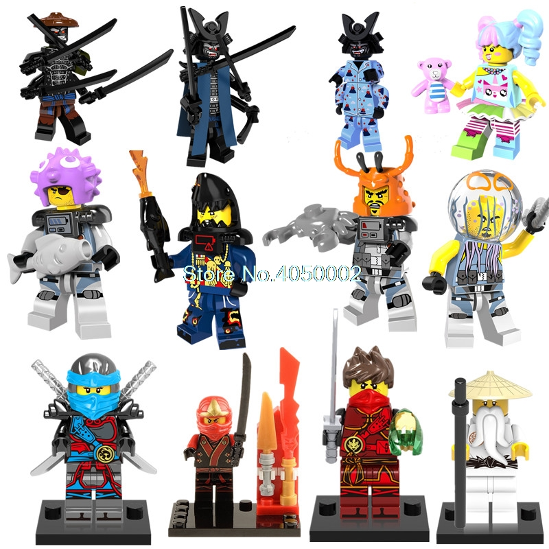 Model Building Single Sale Legoing Ninjago Figure Figure Samukai Gold Weapon Ninjago Building Blocks Childrens Toys Compatible With Legoing