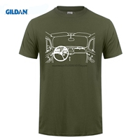 GILDAN Style For Men Ali T Shirts VW Beetle Man Rude Hip White Tees Euro Size