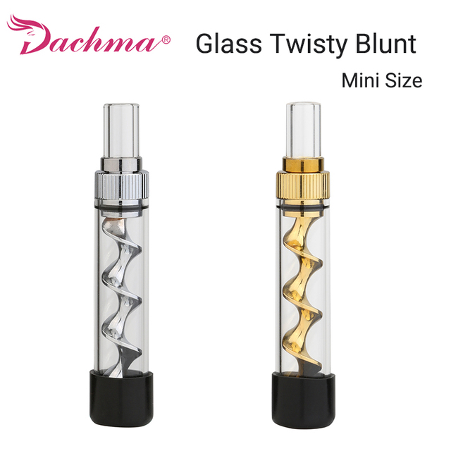 Best Offers Mini Glass Twisty Blunt Smoking Pipe Tobacco