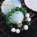 Hot Sale Natural Jade Stone Bracelet Lap Bracelets Jewelry Charm Beads Gifts Diybeads