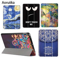 Case For IPad Pro 10 5 Cartoon Cute Magnet PU Leather Case Flip Cover For IPad