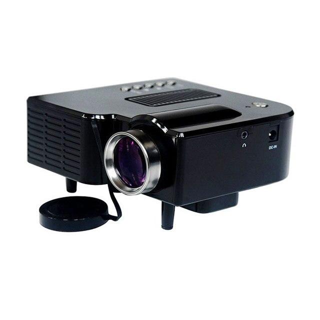 Мобильный мини проектор AV A/V USB & SD HDM