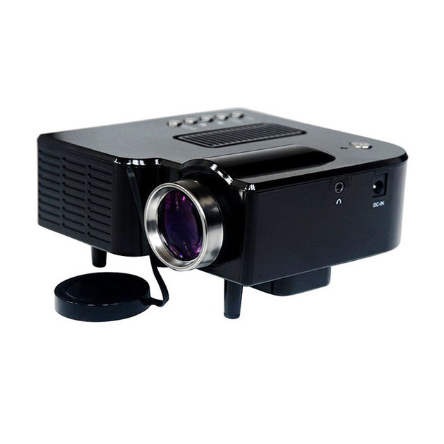 Wholesale New Home Projector Mobile phone MINI Projector Mini Pico portable Digital Projector AV A/V USB & SD HDMI Projector