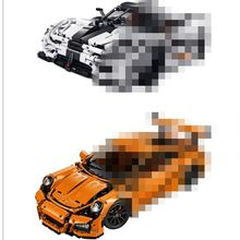 Mailackers Legoing Technic Figure Block Racing Model Building Blocks Birthday Gifts Compatible Technic Legoings Toy For Children(China)