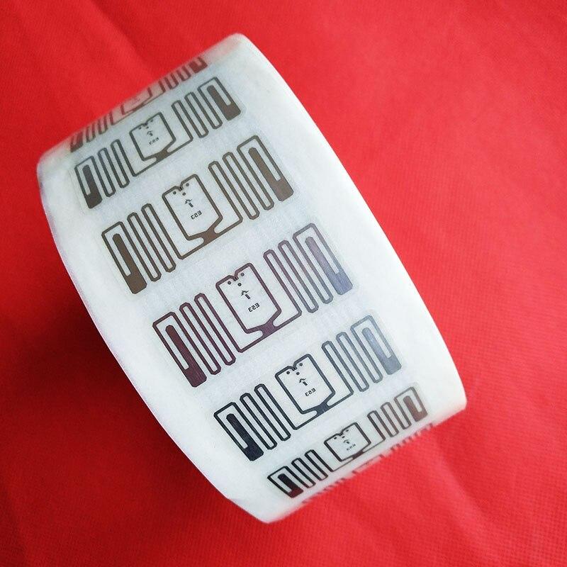RFID Passive Cards UHF Stickers Tags Impinj E53 Tag Sticker 100pcs/Lot