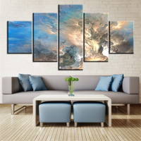 5 pc Set new arrived abstract cloud NO FRAME Oil Painting Canvas Prints Wall Art Pictures For Living Room Decorations