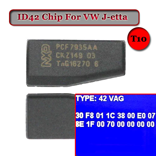 US $2 4  ID42 (T10) Crypto Transponder Chip for VW-in Burglar Alarm from  Automobiles & Motorcycles on Aliexpress com   Alibaba Group
