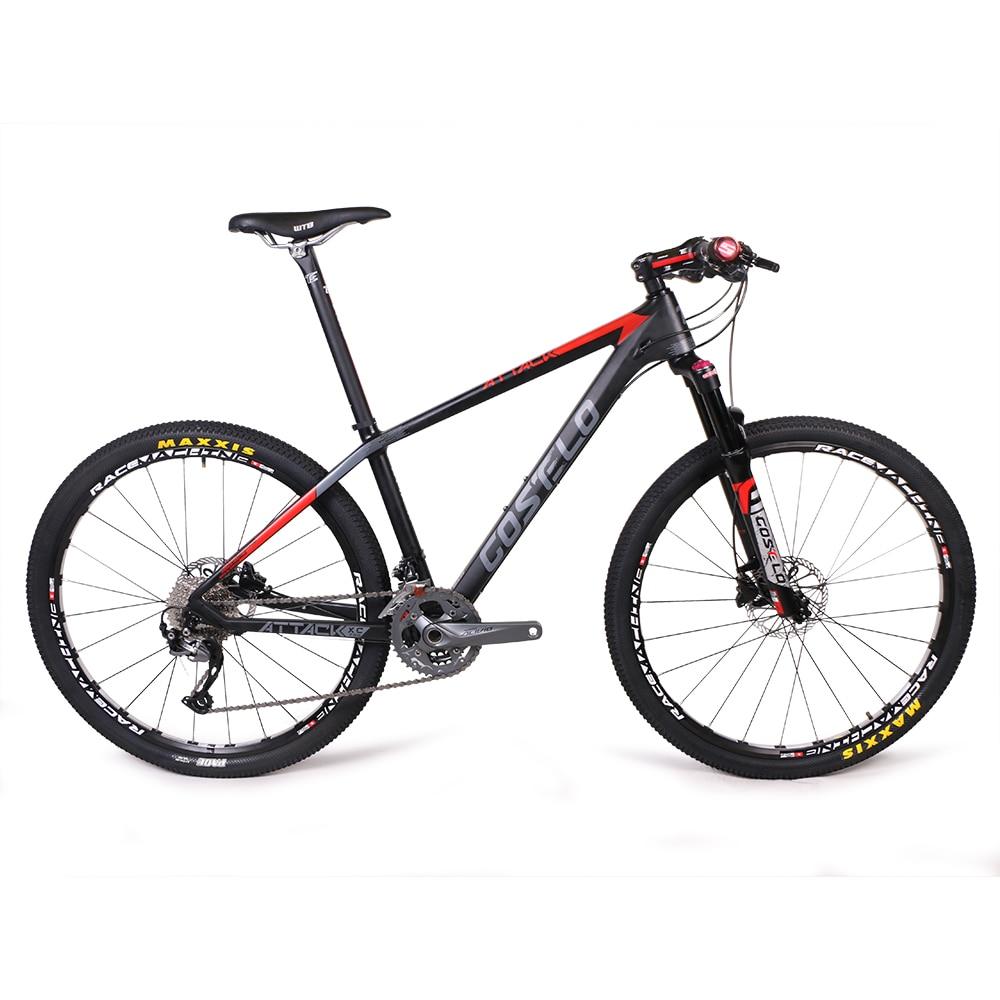 Costelo ATTCKA 27.5 downhill Mountain Bike 26er bici completa completa Doble DIS