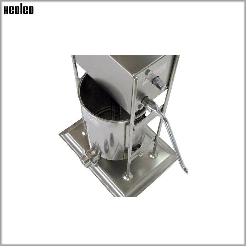 XEOLEO 7L Churros faisant la machine de remplissage de fruits Latin Gigi machine de remplissage de fruits équipement automatique Commercial d'acier inoxydable - 5