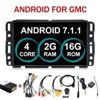 7 Android 7,1 4 Core радио dvd плеер автомобиля руль gps для Chevrolet Tahoe траверс BUICK Enclave GMC yukon Tahoe Acadia