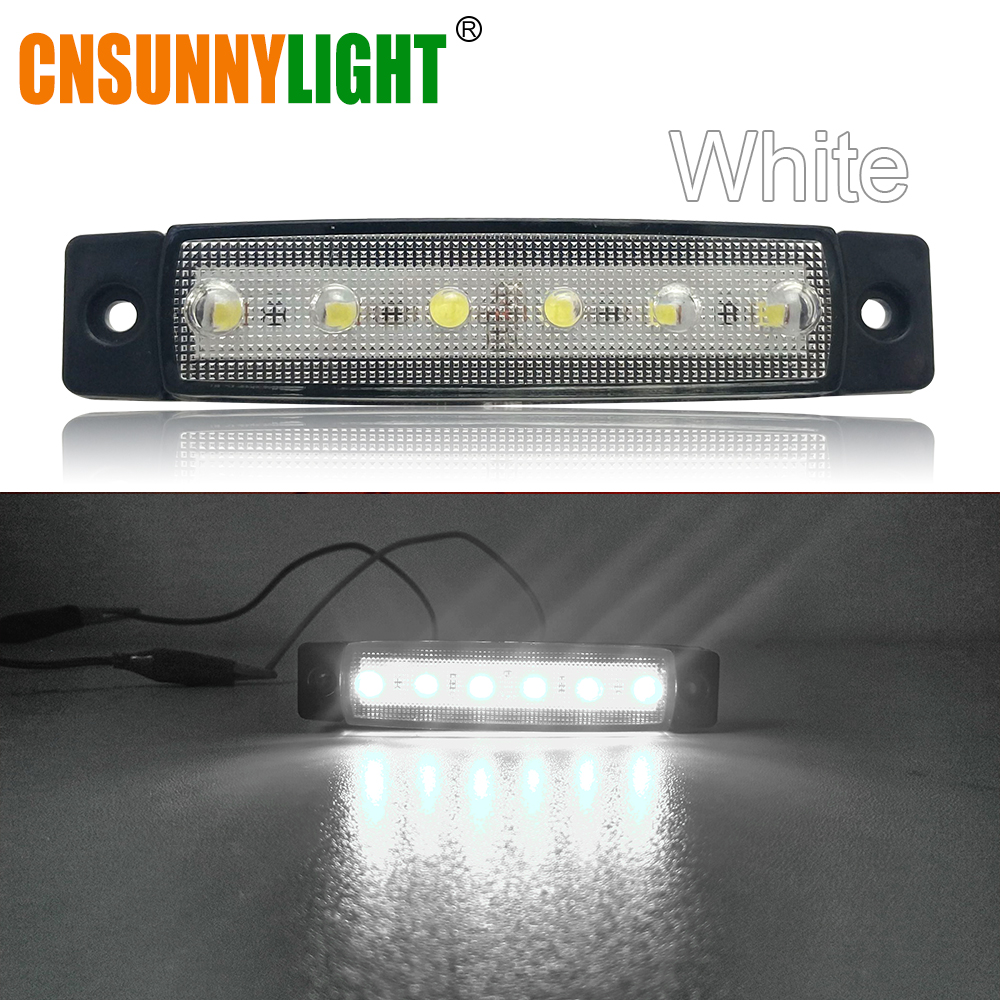 CNSUNNYLIGHT Car LED Bus Clearance Lamp Tail Reverse Light Turn Signal Truck Trailer Lorry UTE Caravan Rear Warning Lighting Bar (5)
