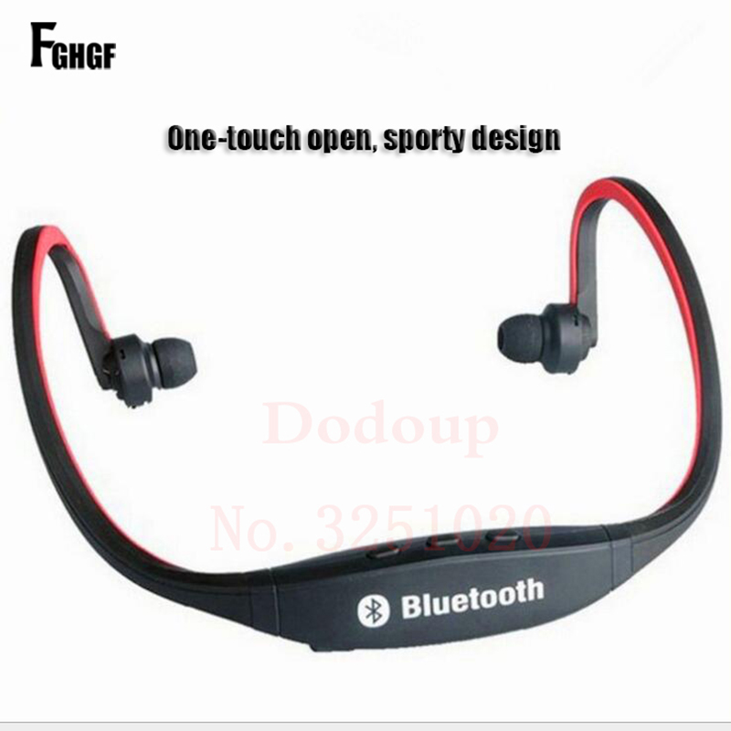 FGHGF Universal Bluetooth Earphone For iphone Wirless Handfree Phone Headset With Mic Sports Stereo Headphones For huawei Hot