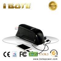 48V battery dolphin type 14ah 48V lithium batterie 18650 battery akku for electric bike kit