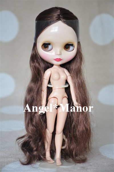 ФОТО Nude blyth doll with jointed body,  gery hair, For Girl's Gift,Valentine's day present,jointed doll GP035
