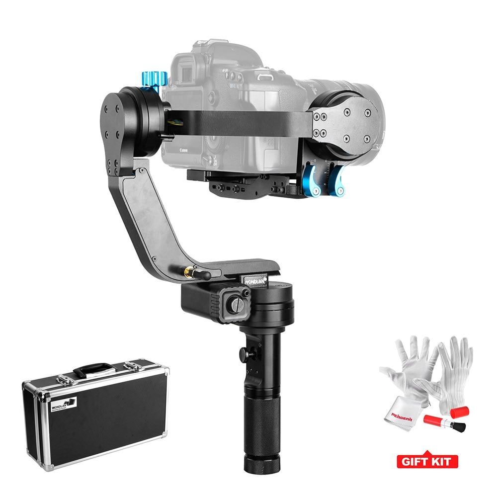 Wondlan Skywalker SK01 32-bit Controller 3-Axis Gimbal Stabilizer for DSLR Canon Cameras load 2KG VS Zhiyun Crane Nebula 4000 zhiyun crane m crane m 3 axis brushless handle gimbal stabilizer for smartphone mirroless dslr gopro 125g 650g