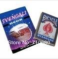 Bicicleta naipes cubierta svengali tarjetas largas y cortas naipes trucos de magia apoyos mágicos
