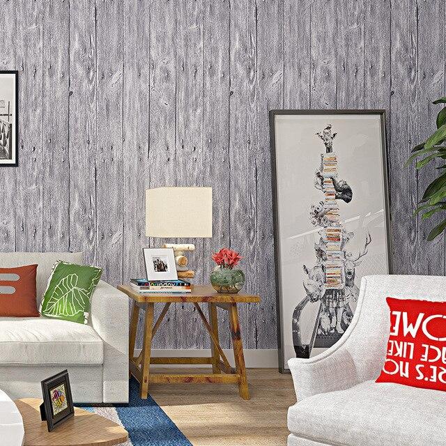 Beibehang Nostalgischen retro Chinesischen tapete wohnzimmer schlafzimmer  studie hintergrund einfachen pvc holz