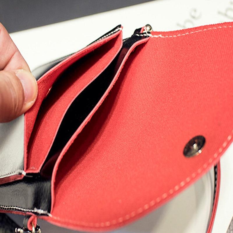 New Fashion Women's Mini Multi-color side edge of color phone package lovely purse retro shoulder diagonal handbags messenger 6