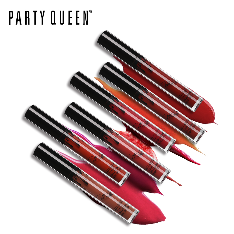 Party Queen Ultra Matte Velvet Läppstift Vätska Långvarig - Smink - Foto 5