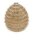 Evening Clutch Bag Luxury Crystal Women Handbag Party Purse evening cluth purse bag Gold wedding Bride clutch Bag sc478