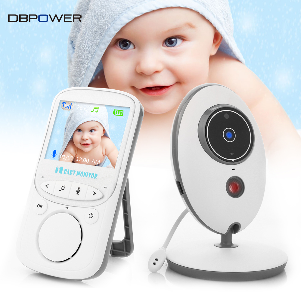 wirless baby monitor 2 way talk 2 4 39 39 lcd digital baby camera portable monitor. Black Bedroom Furniture Sets. Home Design Ideas