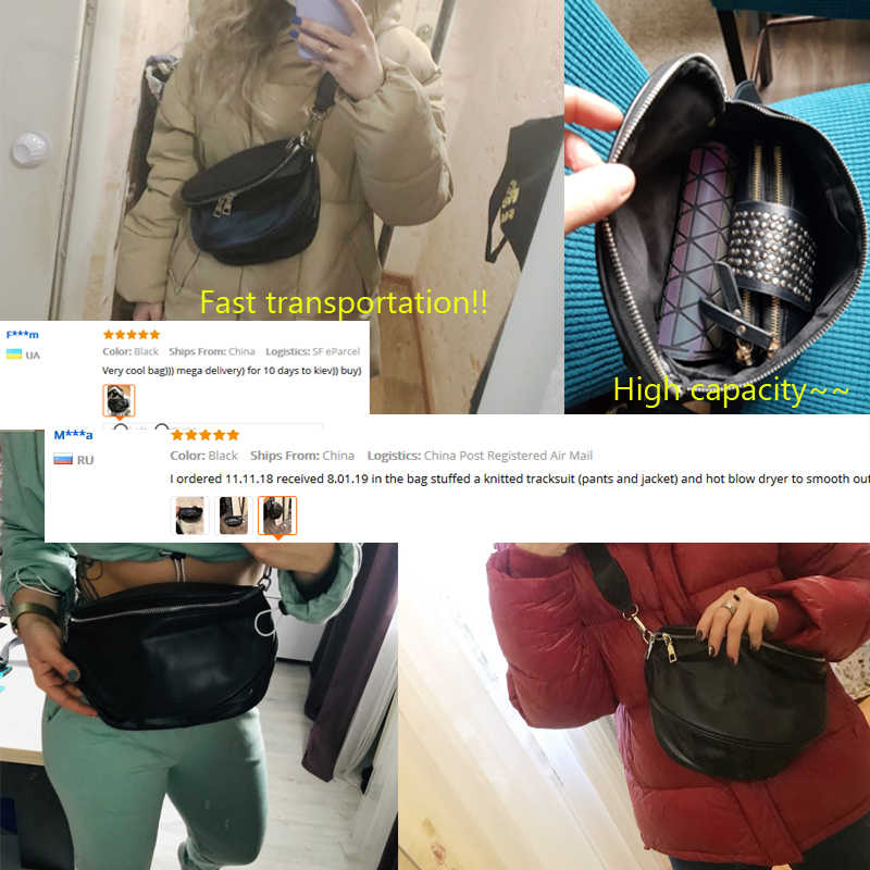 Vrouwen Borst Zak Nieuwe Taille Packs Pure Kleur Shell Lederen Messenger Schoudertas Telefoon Crossbody Geld Borst Tassen Mode Heetste