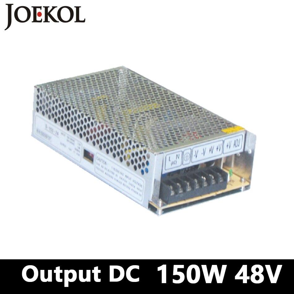switching power supply 150W 48v 3A,Single Output voltage converter for Led Strip,AC110V/220V Transformer to DC 48V 1200w 48v adjustable 220v input single output switching power supply for led strip light ac to dc