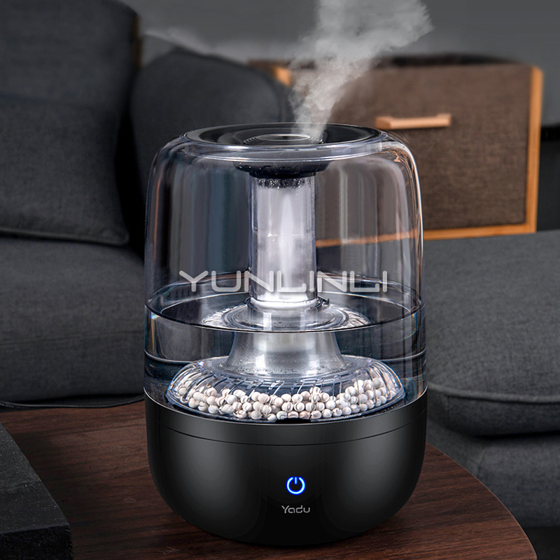 4L Mini Air Humidifier Household Air Moisture Silent 360 Rotating Spray Flower/Fruits Mist Maker SC-S040 sc 360