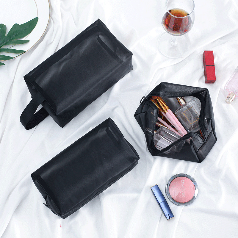 Transparent Women Cosmetic Bag Travel Function Makeup Case 2019 Zipper Make Up Organizer Storage Pouch Toiletry Beauty Wash Bag 2