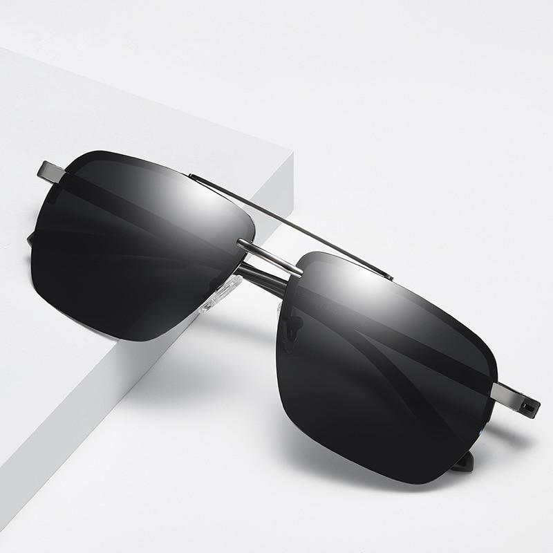 5e4dac1ee1 Alta calidad Ultra-luz de aluminio y magnesio deportes gafas de sol  polarizadas hombres UV400