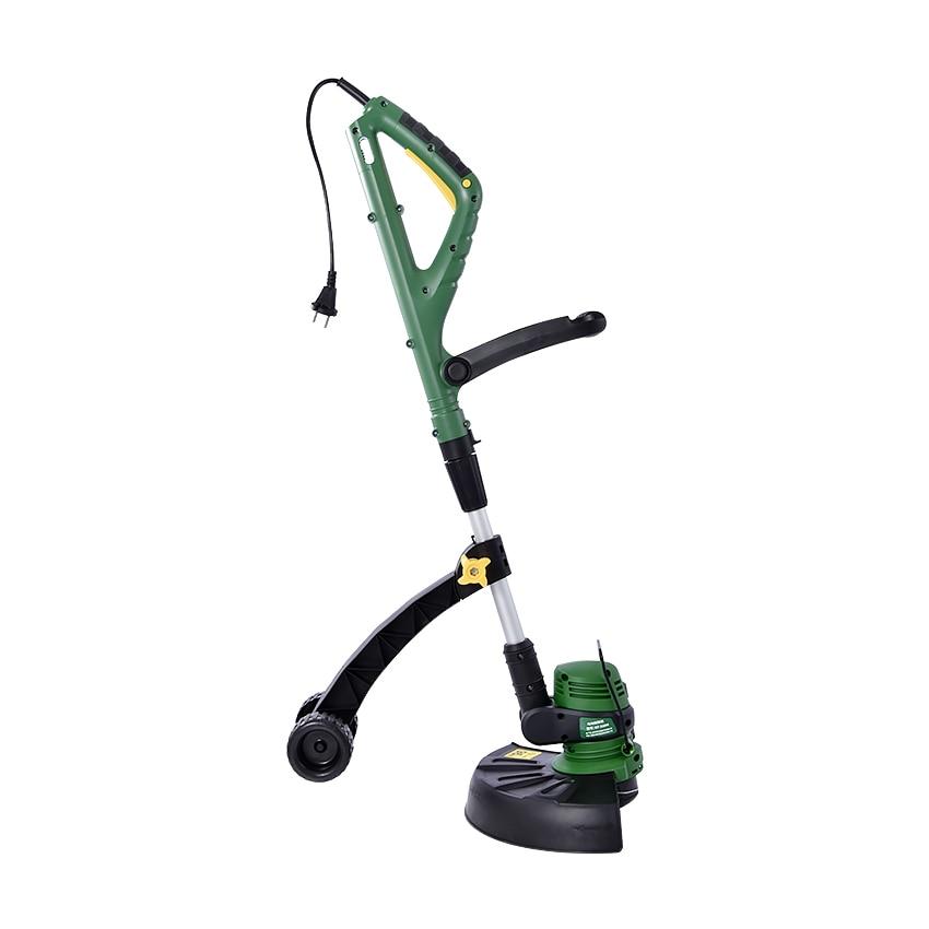 все цены на ZJMZYM Home Electric Lawn Mower GT-320 Portable Garden Lawn Mower Weeding Machine 800W 220v/60HZ 8800 rev/min 70-95cm Adjustable онлайн