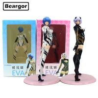 9 inch 2018 NEW EVA Rebuild of Evangelion Ayanami Rei 2 Color Boxed 24cm PVC Anime Action Figure Collection Model Doll Toys Gift