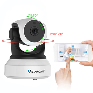 Image 4 - Vstarcam C7824WIP Baby Monitor wifi 2 way audio smart camera with motion detection Security IP Camera Wireless Baby Camera